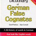 NTC's Dictionary of German False Cognates (226 pp)